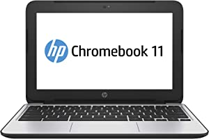 HP ChromeBook 11 G4 11.6 Inch Business Notebooks, Intel Celeron Processor N2840 2.16GHz, 2G RAM, 16G SSD, WiFi, HDMI, Chrome OS(Renewed)