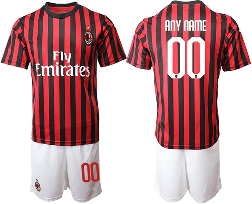 Custom Kids Soccer Jerseys FC Team Personalized with Any Name Number Boys//Girls
