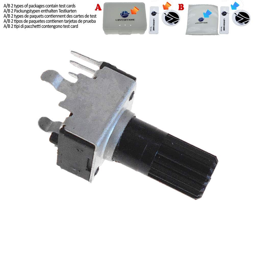 10PCS Vertical Potentiometer Long Handle 1K//2K//5K//10K//50K//100K 0932 Potentiometer,100K Ohm