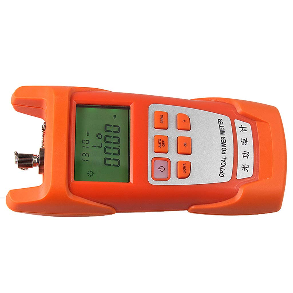 SM SunniMix 1Set -70dBm~+10dBm 850~1625nm Optical Power Meter Tester FC SC Handheld Optical Power Meter + 1mW Visual Fault Locator Pen by SM SunniMix (Image #6)