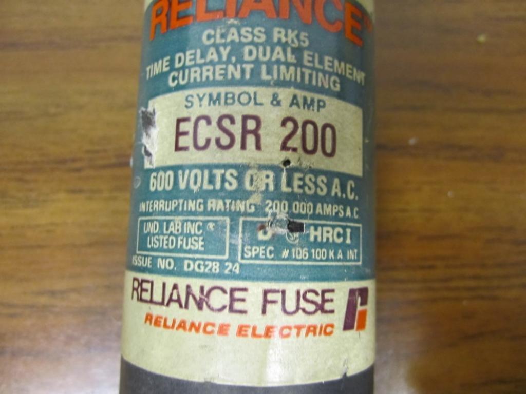 Reliance ECSR-200 Fuse ECSR200: Amazon.com: Industrial & Scientific