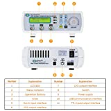 Signal Generator, KKmoon High Precision Digital DDS Dual-Channel Signal Source Generator Arbitrary Waveform Frequency Meter 200MSa/s 6MHz