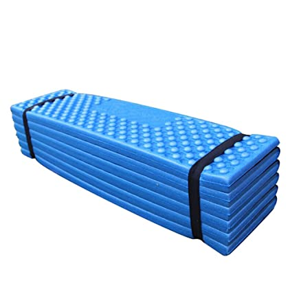 EDTara Camping Pad Ultralight Foam Outdoor Camping Mat Easy Folding Beach  Tent Sleeping Pad Waterproof Mattress for Travelling Camping Hiking