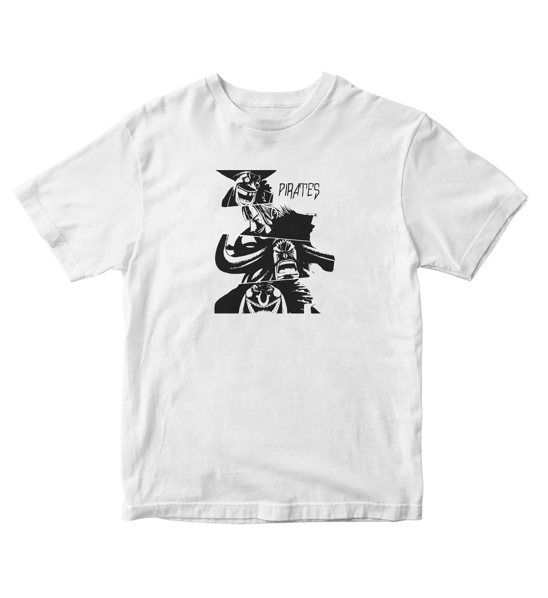 Tjsports One Piece Shirt Pirates Of Piece Anime Manga S A746