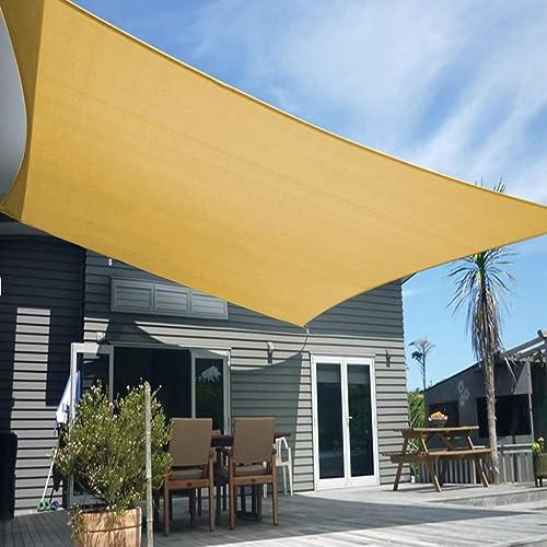 Artpuch Sun Shade Sail Canopy 12' x 16' Cover