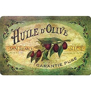 Apache Mills 60-122-0149-18x30 30 Cushion Comfort Vintage Olive Oil Kitchen Mat, 18-Inch X, Multi