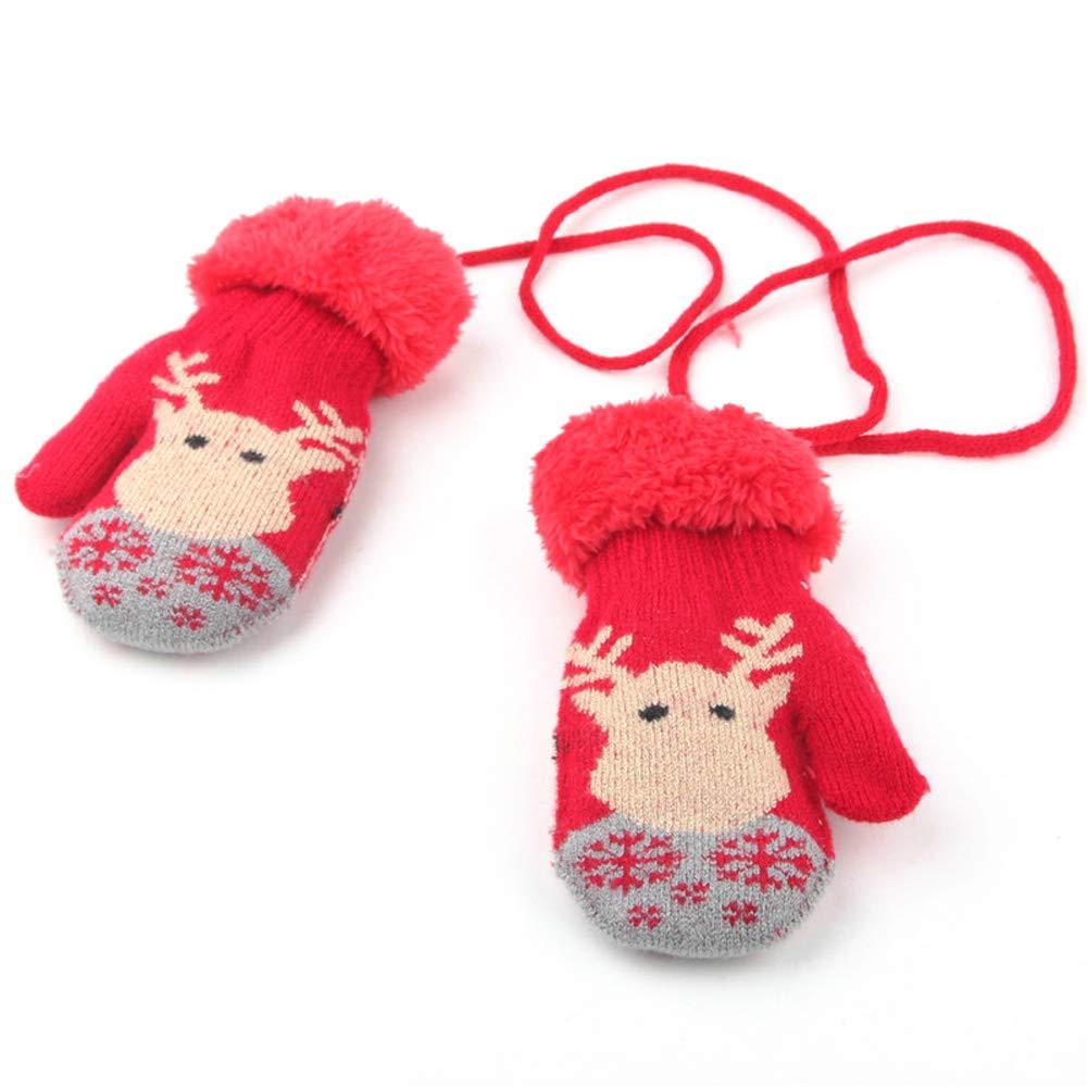 MaxNova Toddler Mittens Warm Fleece Winter