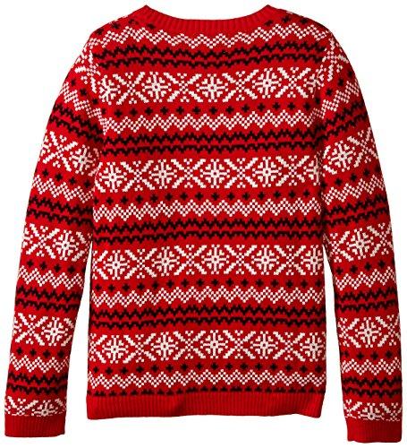 Alex Stevens Girls' Slothy Christmas Sweater -