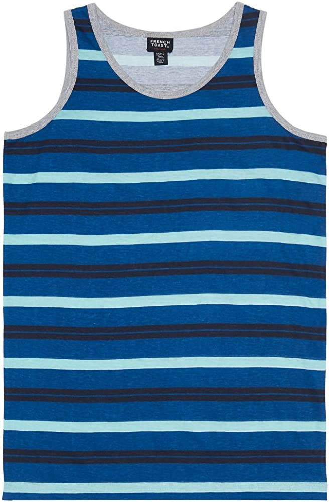French Toast Boys Striped Tank Top