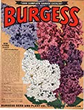 Burgess 1949 Complete Garden Catalog offers