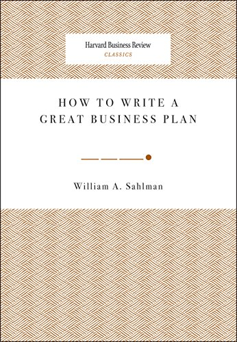 William sahlman business plan