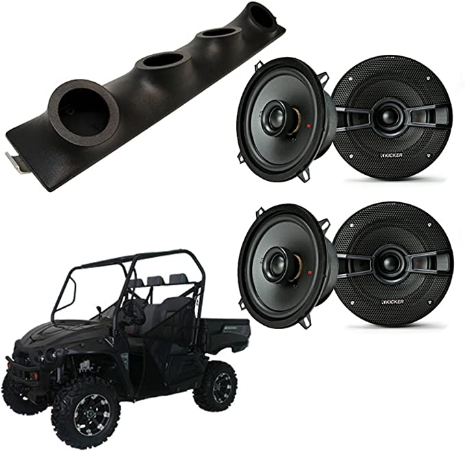 Intimidator UTV UTV Kicker ks525 Powered Car Audio Altavoces Custom SYS Caja Nueva: Amazon.es: Electrónica