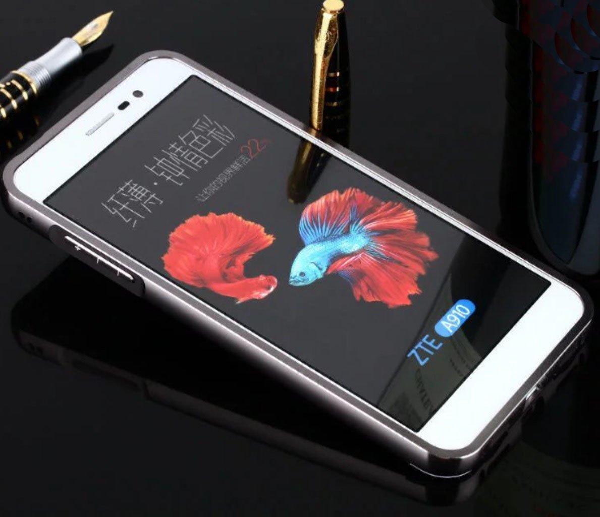 Amazon.com: ZTE AXON7 A2017 Mirror Case, Shiny Awesome Make ...