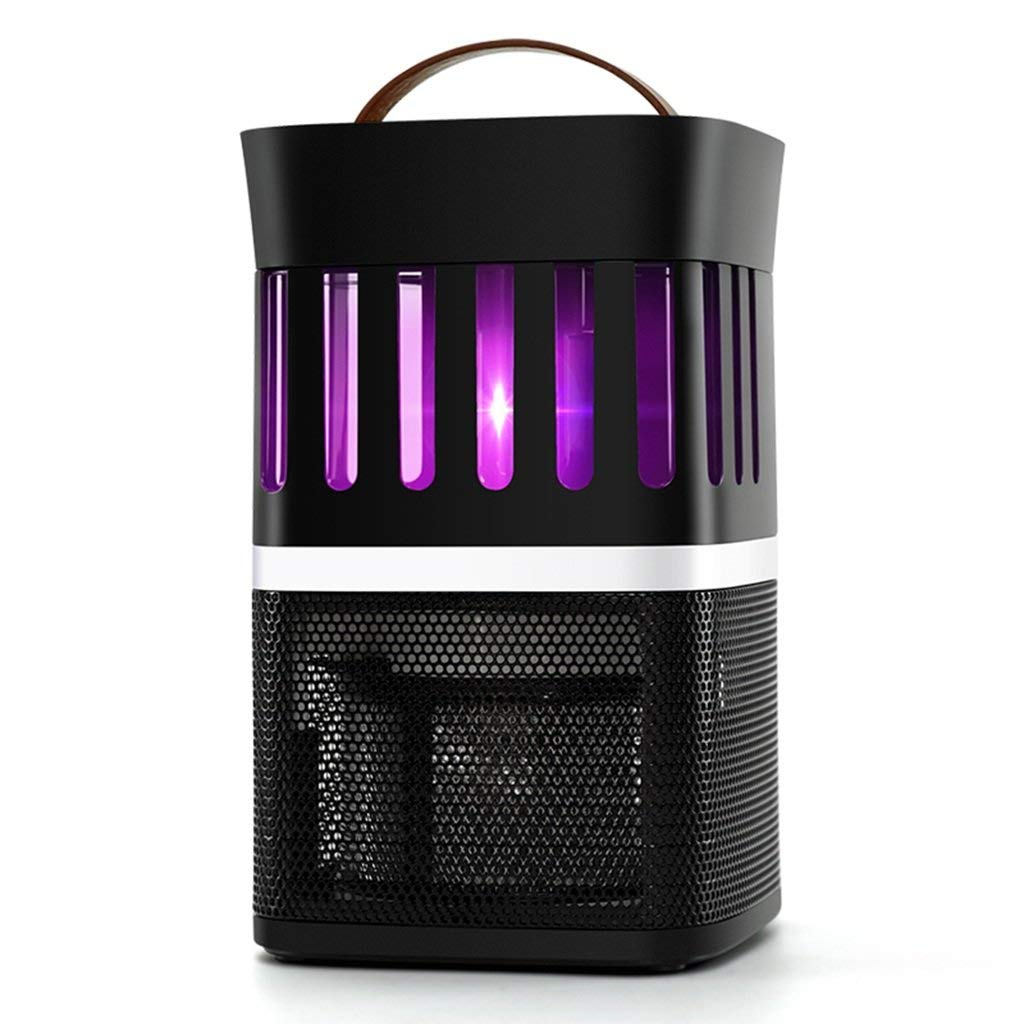 Black Insect Killer Light, Mosquito Lamp Household Silent Pregnant Women Mosquito Light Indoor Baby Mosquito Trap