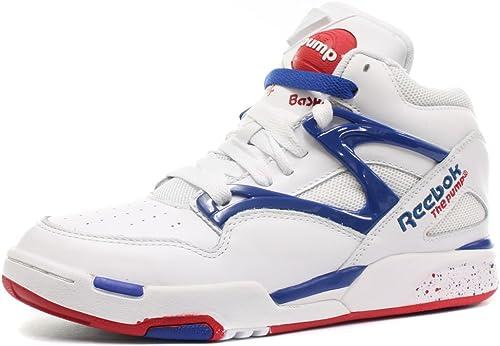 bleu blanche et pump reebok pump reebok et blanche BxCWdeQro