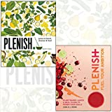 Kara Rosen 2 Books Collection Set - Plenish: Juices to boost, cleanse & heal,Plenish: Fuel Your Ambition: Plant-based juices and meal plans to power your goals