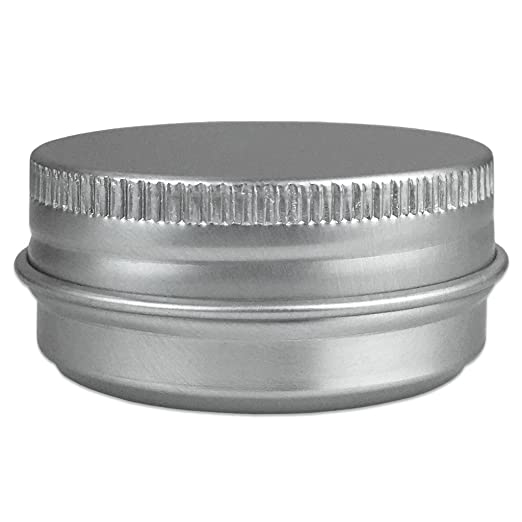 Lovely Amazon.com: Beauticom Aluminum Silver Tin Metal Storage Containers With  Screwtop Lids For DIY Beauty, Cosmetics, Accessories, Travel And More!