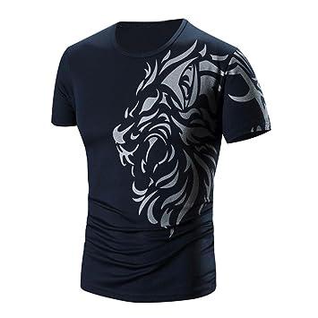 KanLin1986❤ Camiseta de hombre,ropa para hombre blusas camisas de futbol camisetas deporte hombre