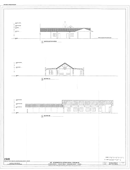 amazon com historic pictoric structural drawing 1949 southeast