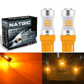 ngcat Auto bombilla LED 2pcs 7440 7440 na 7441 992 T20 chipsets 2835 21 SMD LED ...