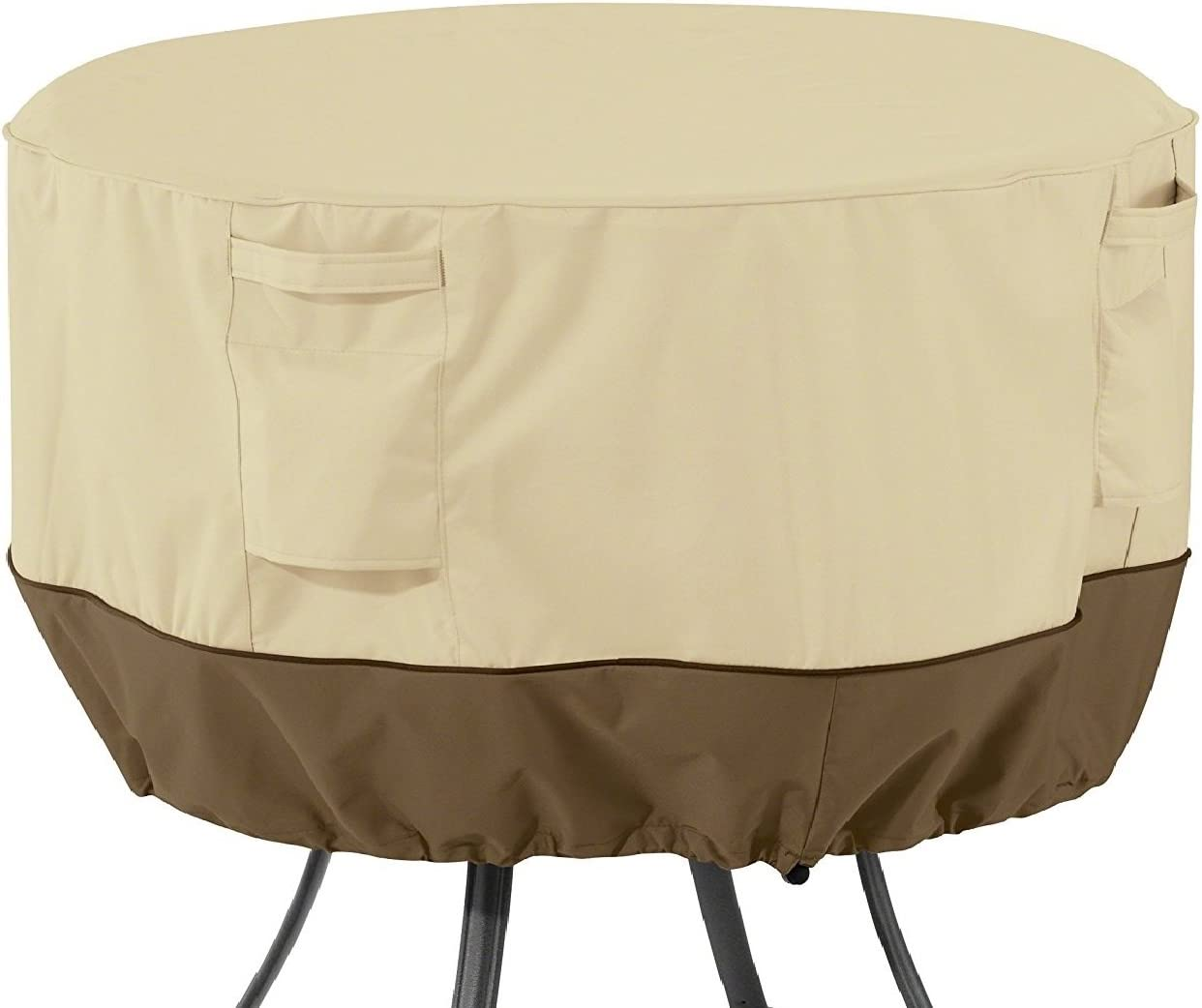 Classic Accessories Veranda Round Patio Table Cover, Medium