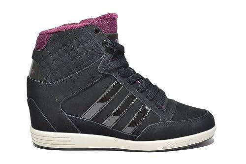 Adidas NEO Super Wedge Sneakers Nero Scarpe Donna F98650 41