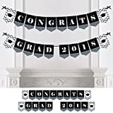 Silver Tassel Worth The Hassle - Graduation Party Bunting Banner - Silver Party Decorations - Congrats Grad 2018