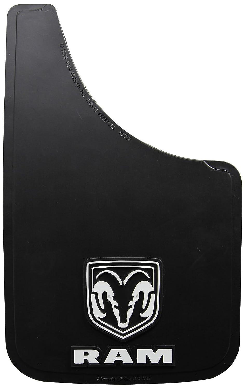 Amazon Plasticolor Dodge Ram White Logo Easy Fit 15 Mud Guard