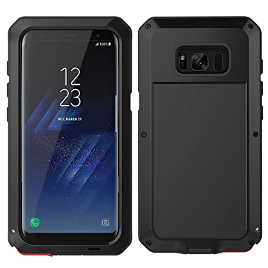 official photos 0e6d3 ba050 MRSMR Samsung Galaxy S8 Plus Case, Ultra Rugged Dust Proof Snowproof  Shockproof Heavy Duty Case Protective Case Defender Cover For SAMSUNG-S8 ...
