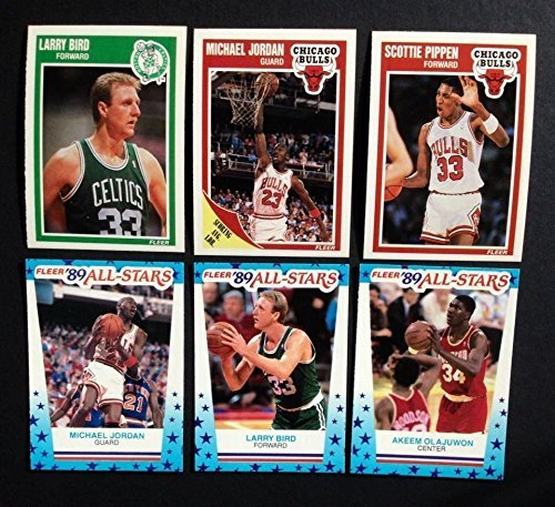 1989 / 1990 Fleer Basketball Series Complete Mint Hand Collated 168 Card Set Plus the 11 Card Sticker Set; It Was Never Issued in Factory Form. Loaded with Stars, Rookies and Hall of Famers Including Michael Jordan's 4th Year Card, Larry Bird, Kevin Mchale, Robert Parish, Dennis Rodman, Scottie Pippen, Magic Johnson, David Robinson and Many Others!