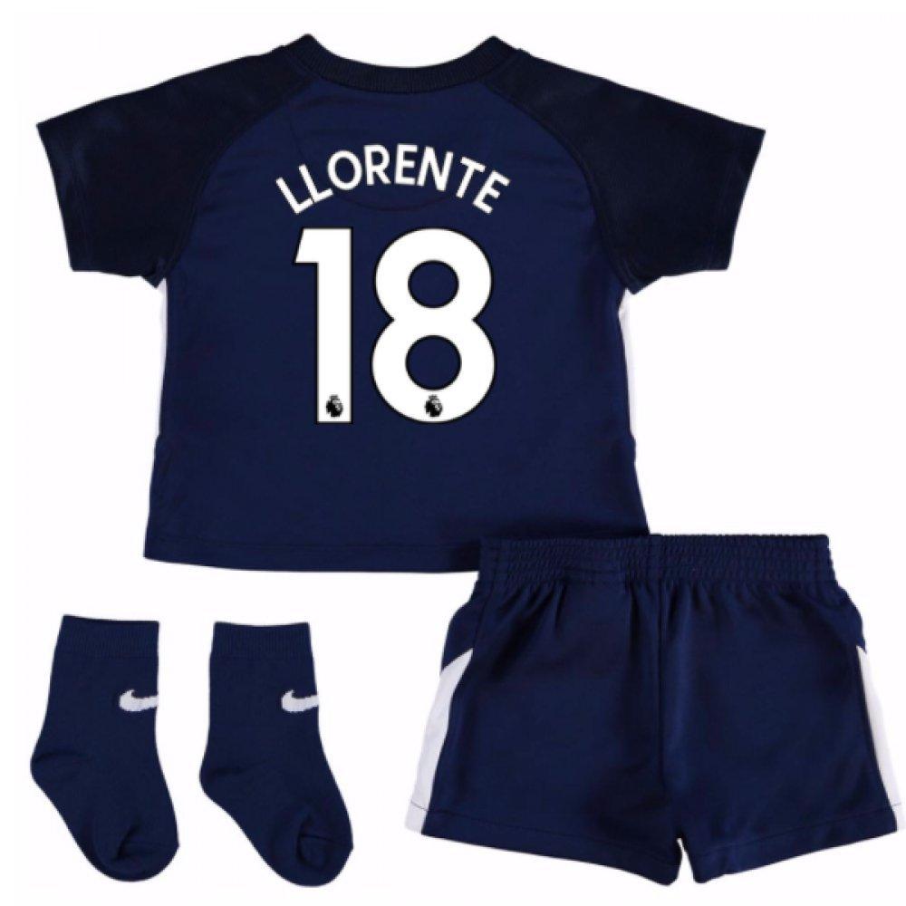 UKSoccershop 2017-18 Tottenham Away Baby Kit (Fernando Llorente 18)