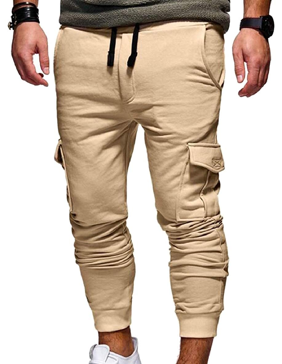 Tymhgt Mens Casual Baggy Hiphop Jogger Pants Sweatpants Trousers