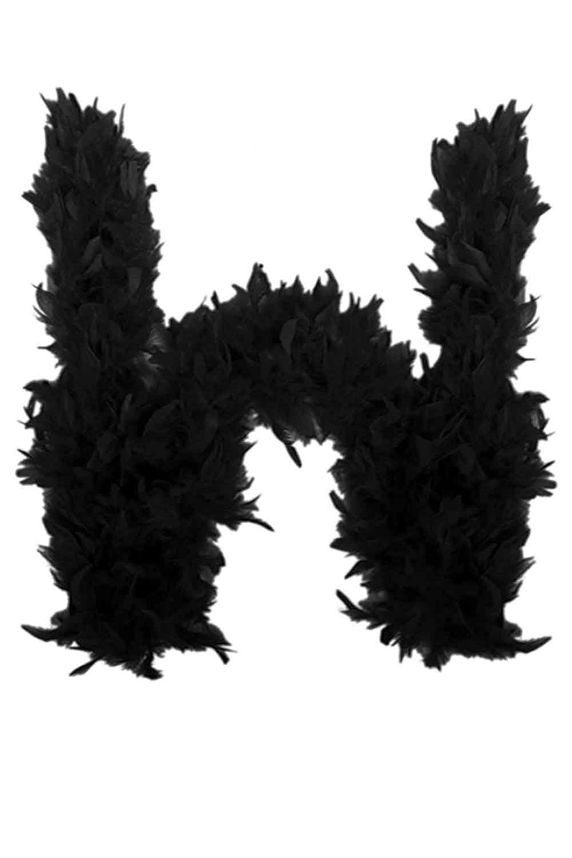 Ladies Quality Black Feather Boa TT