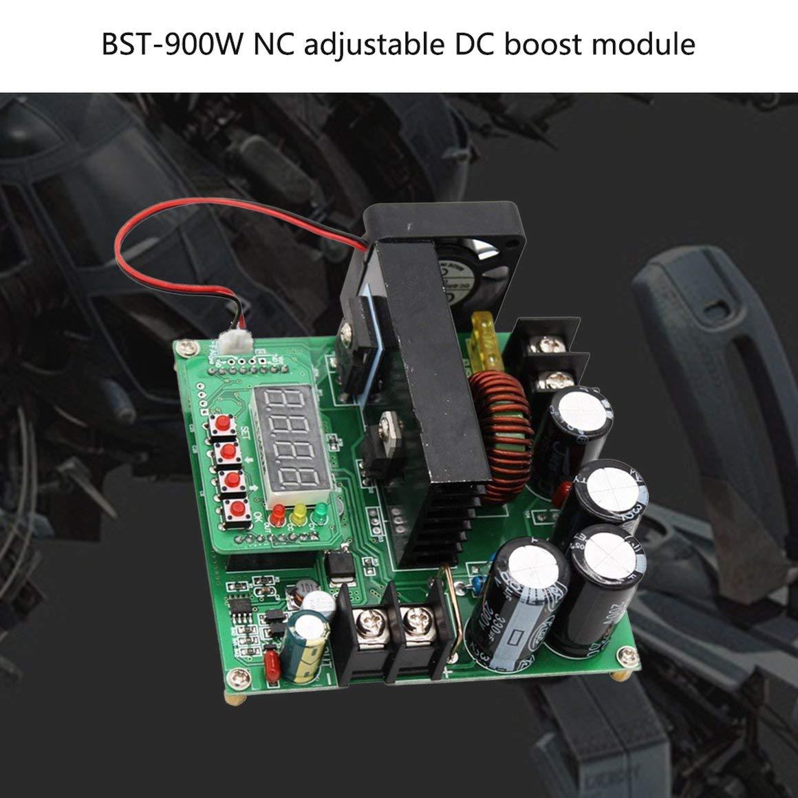 Funnyrunstore BST-900W Modulo DC boost regolabile da CNC Alimentatore stabilizzato Modulo caricabatterie 120V10A