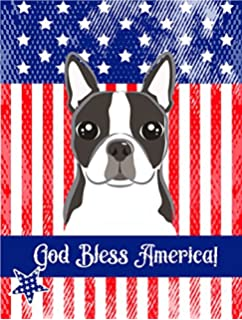 Carolineu0027s Treasures BB2133GF Boston Terrier Garden Flag, Small, Multicolor