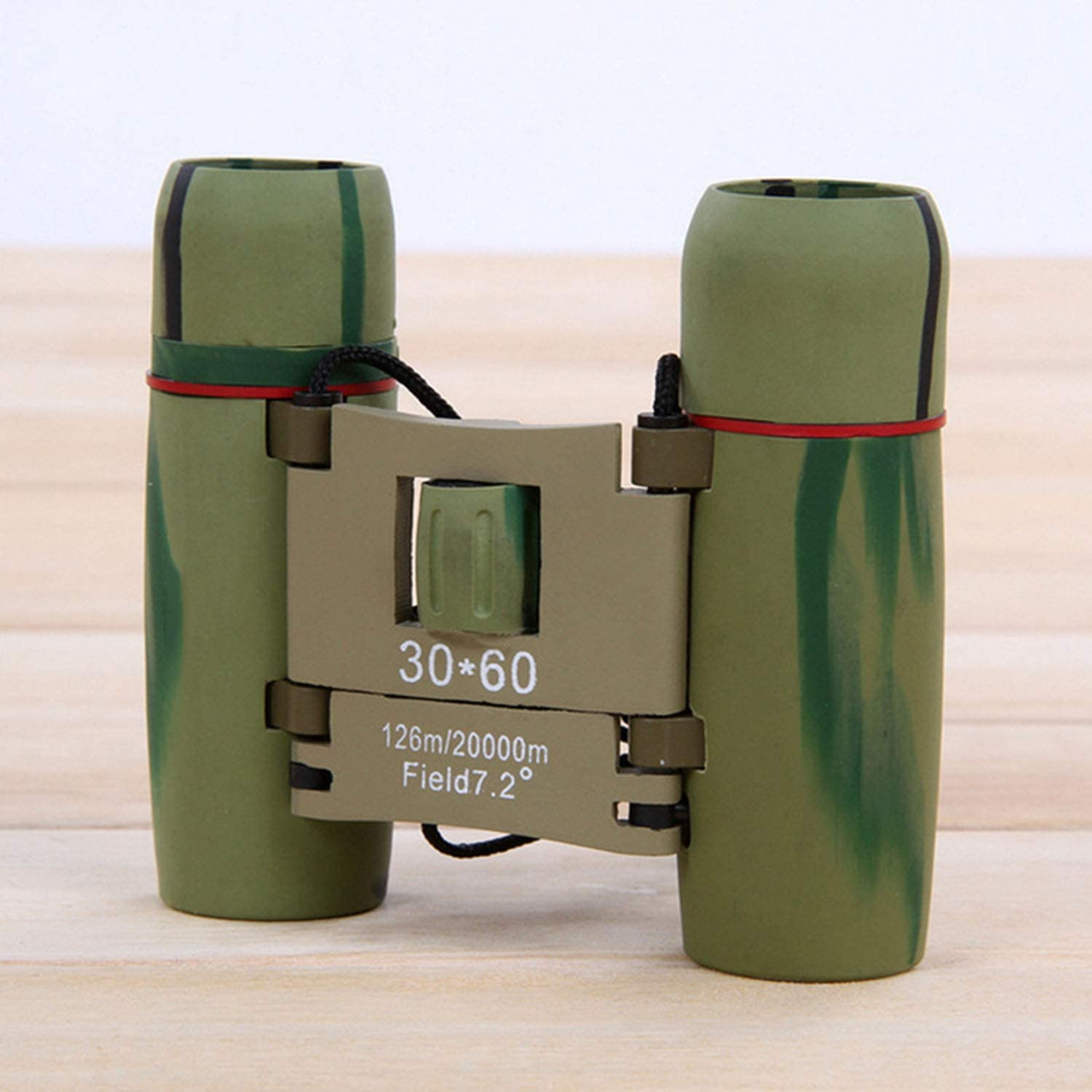 YAMADIE 30X60 Compact Outdoor Telescope High-Definition Low-Light Low-Light Night Vision Binocular Viewing Mirror is Convenient to Carry