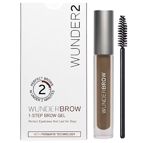WUNDER2 WUNDERBROW Long Lasting Eyebrow Gel for Waterproof Eyebrow Makeup,
