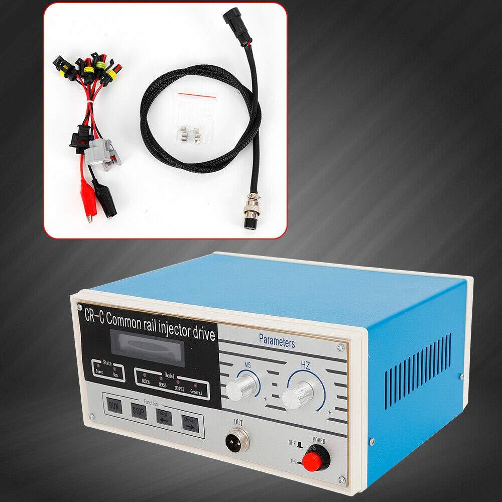 BTdahong CR-C Common Rail Injector Schieneninjektor Multi Funktion Einspritzd/üse Tester f/ür Bosch//Delphi//Denso Diesel Common Rail Injector