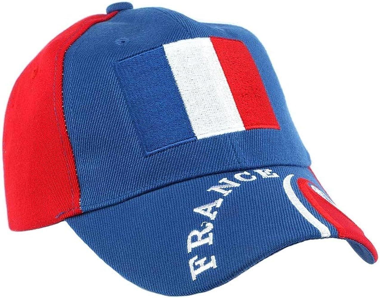 PAYS Gorra Francia fútbol clubs – Mixta azul Talla única: Amazon.es: Ropa y accesorios