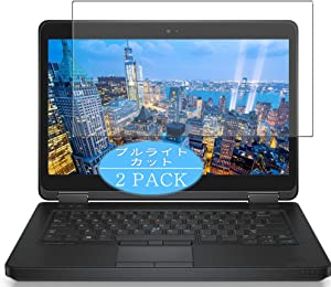 """?2 Pack? Synvy Anti Blue Light Screen Protector Compatible with DELL Latitude 14 5000 Series E5450 14"""" Anti Glare Screen Film Protective Protectors [Not Tempered Glass]"""