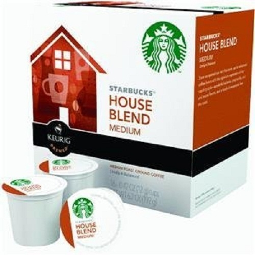 Starbucks House Blend, K-Cup for Keurig Brewers, 160 Count