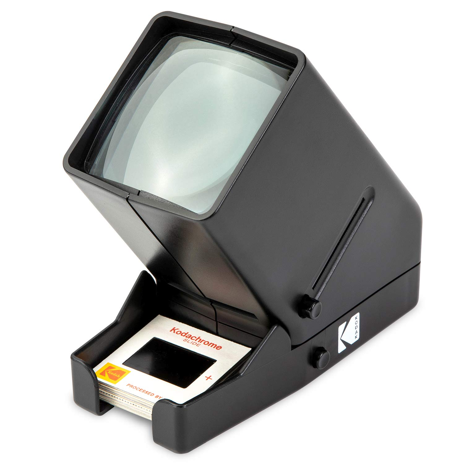 KODAK 35mm Slide and Film Viewer - Battery Operation, 3X Magnification, LED Lighted Viewing – for 35mm Slides & Film Negatives RODESV25