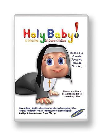 Santo Bebé-Siete Oraciones Católicas en Siete Lenguajes- Signo de la Cruz- Credo