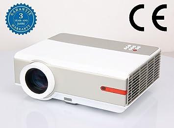 Video Proyector 5000 lúmenes proyectores Full HD 1080p ...