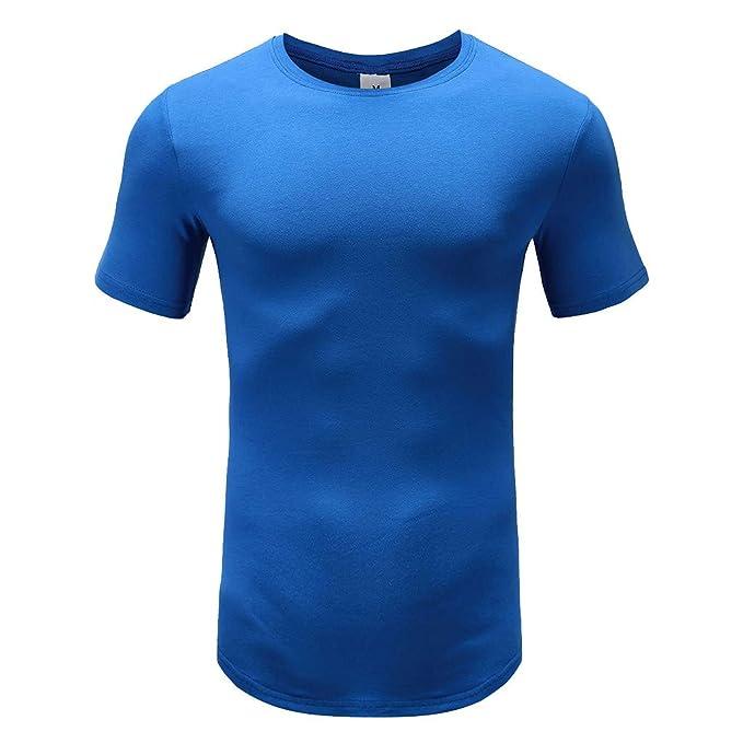 Camiseta de Manga Corta para Hombre, ZARLLE Aptitud Camiseta