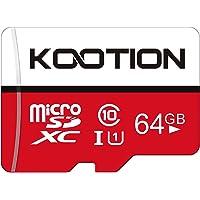 KOOTION 64GB Micro SD Card Class 10 TF Card UHS-1 MicroSDXC Memory Card, U1, C10, High-Speed 64GB TF Card for Smartphone…