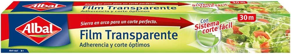 Albal Film transparente para uso alimentario 2 en 1, para ...