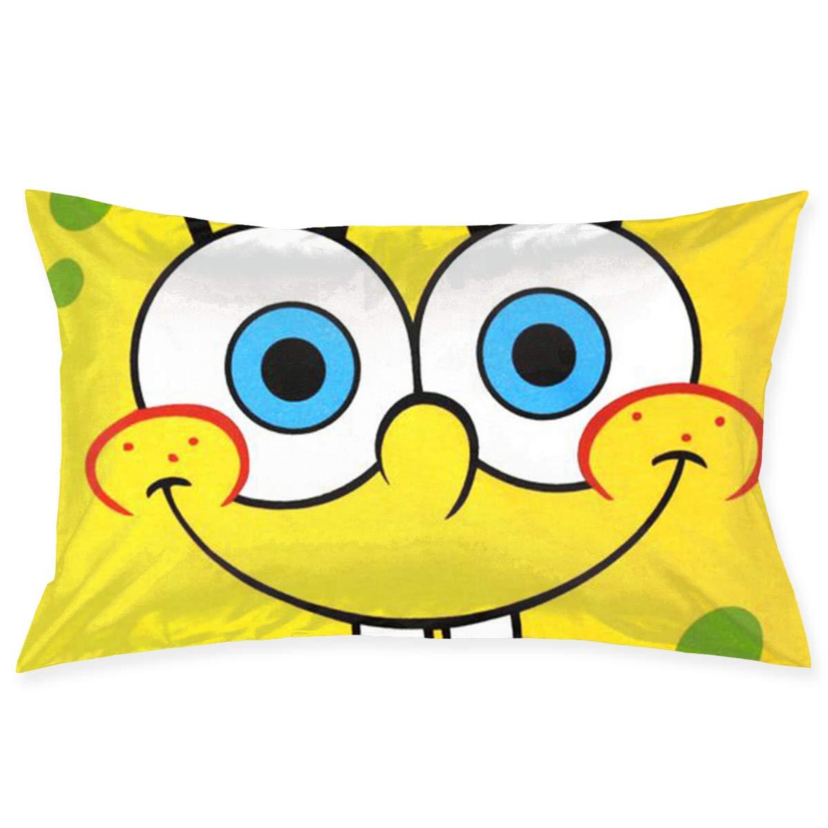 Amazoncom Hyhaczx Cute Spongebob Sofa Office Decorative Pillowslip