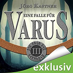 Eine Falle für Varus (Die Saga der Germanen 3) Hörbuch