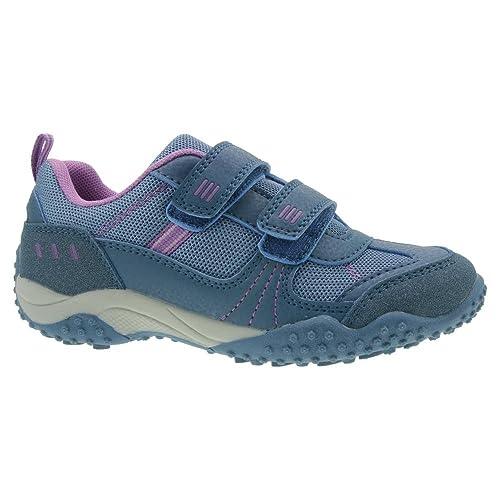 Indigo Kinder Halbschuh Sneaker Low Top Sportlich Klett Gr